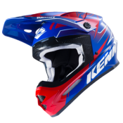 Casque Cross Kenny Track 2017  Bleu/Rouge