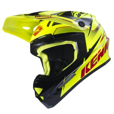 Casque cross Kenny Track 2017 Jaune Fluo