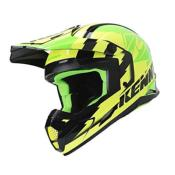 Casque Cross KENNY TRACK VICTORY 2019 jaune Fluo