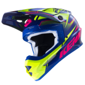 Casque Cross Kenny Track 2017 Marine/Rose/Lime